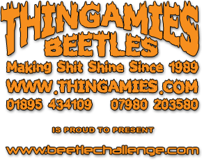 Thingamies Beetles & Motorsports are proud to present The Beetle Challenge