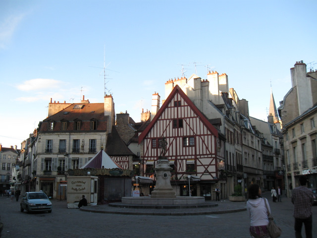Dijon city center
