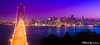 Bay Bridge San Francisco city view night color (davidyuweb) Tags: city bridge color night bay san francisco view mywinners