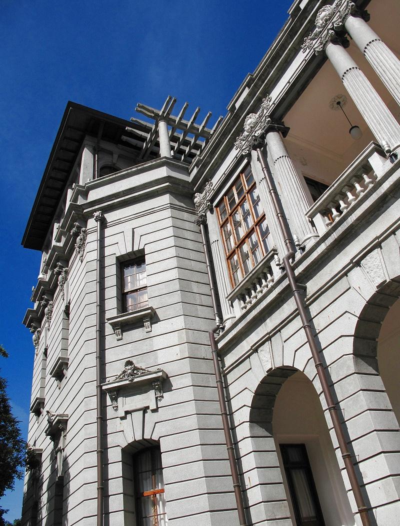 臺北賓館副官室外牆