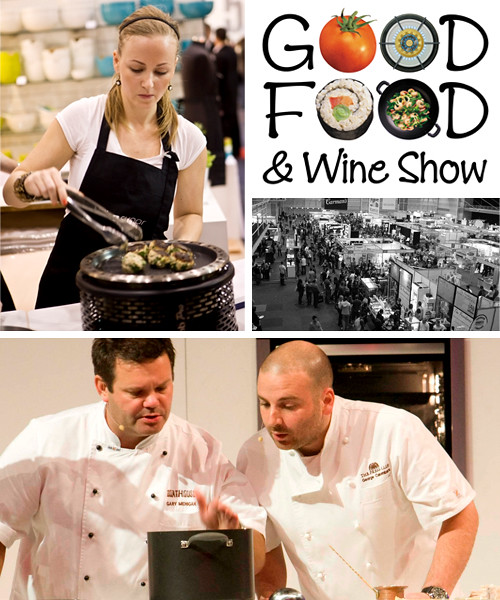 win tickets to the good food and wine show