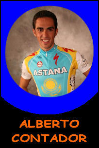 Pictures of Alberto Contador!