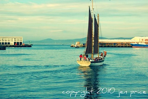 sailboat in cape town