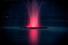 """""""Lac d'Annecy"""" by Night - France"""