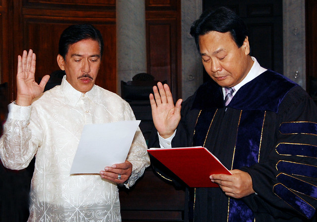 "Oath taking of Senator-elect Vicente ""Tito"" Sotto III   /       DFA- airs concern on rising OFW drug cases"