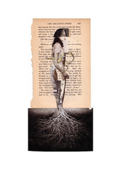 breaking point (lillianna) Tags: art collage point transformation daphne persephone myth breaking grounded rooted