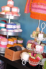 cupcake yarn display