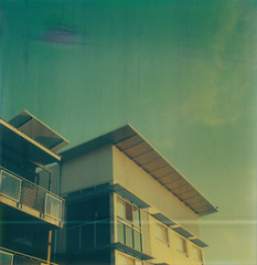 0193 My Apartment (Darcy Perkins) Tags: polaroid sx70 canberra universityofcanberra artistictz theimpossibleproject edgecut