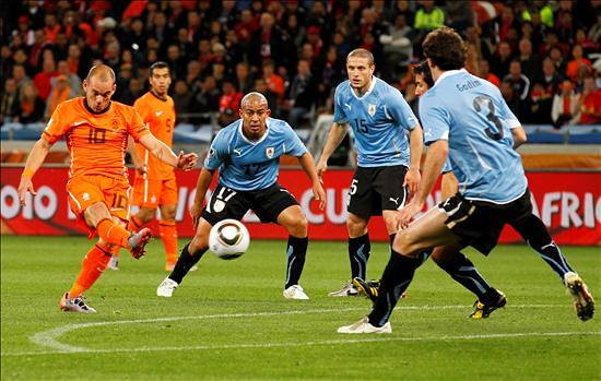 Thumb Semifinal del Mundial: Holanda 3 Uruguay 2