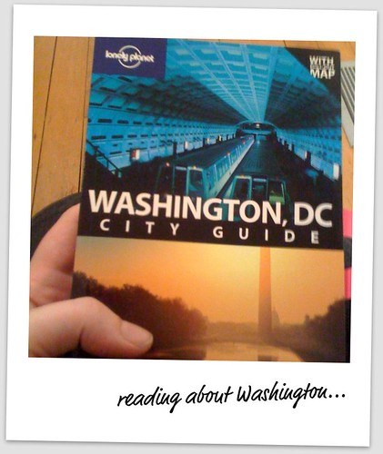 Reading about Washington