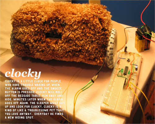 First Clocky Prototype