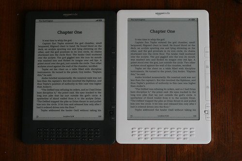 The Kindle DX family