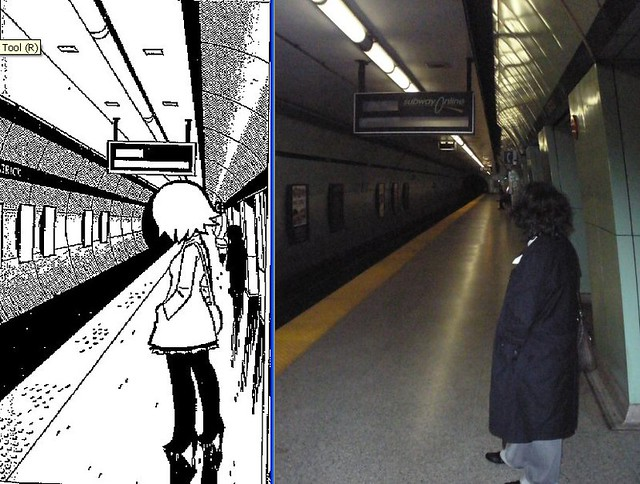 Scott Pilgrim Toronto Canada Subway