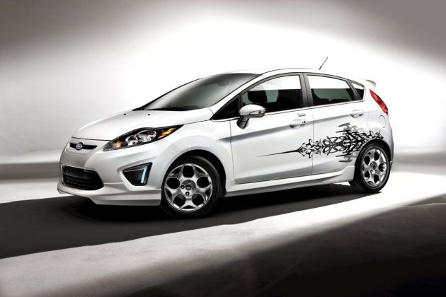 2011 Ford Fiesta accessories