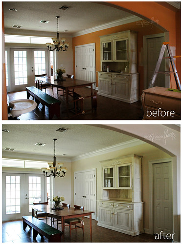 diningroomwallbefore&after