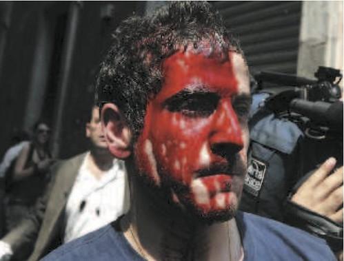 Manifestazione a Roma dei terremotati aquilani
