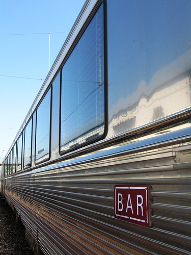 Bar car for charter train - France