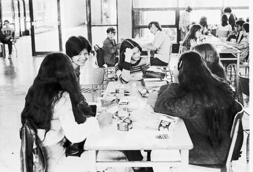Fdr High School. High School - Cafeteria