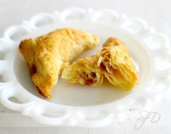 Raspberry Lemon Turnovers