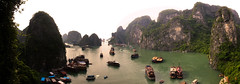 Halong Bay_Vietnam (firefite) Tags: travel panorama water canon landscape bay vietnam surprise cave hanoi halong halongbay junks 24105mm surprisecave 24105f4 5d2 5dmk2