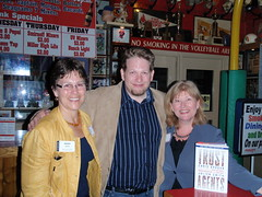 Chris Brogan  Jan Moen and Wendy Soucie