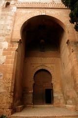 Das Tor der Rechtsprechung in der Alhambra, Granada, Andalusien