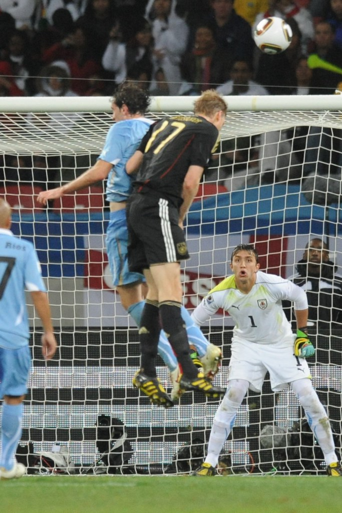 Mundial Sudáfrica Alemania Uruguay Fernando Muslera