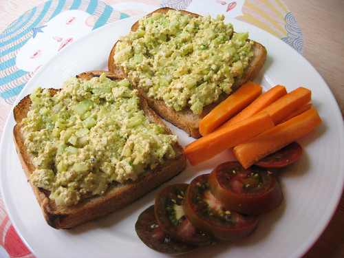 Eggless Egg Salad Sandwich