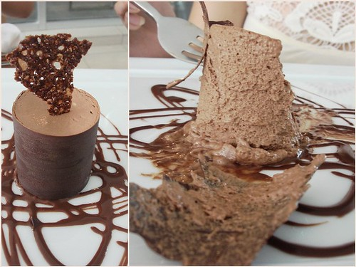 All choc dessert
