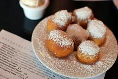 like baby funnel cakes (jslander) Tags: coffee breakfast silverlake donuts brunch latte doughnuts polenta doughnutholes lamill encochette kimsintown