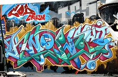 Graffiti In Brooklyn. Wane COD. Crush. (Allan Ludwig) Tags: graffiti cod crush graffitiinbrooklyn wanecod