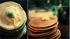 ([shomo5]) Tags: morning food love pancakes like eat honey butter 2010 6365