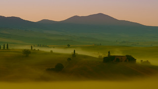 Val d'Orcia - Morning Mist