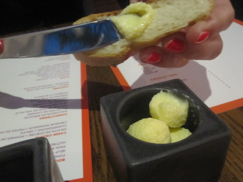 Bread and butter at Brasserie T