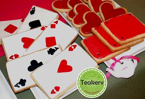 cookies cartas de poker