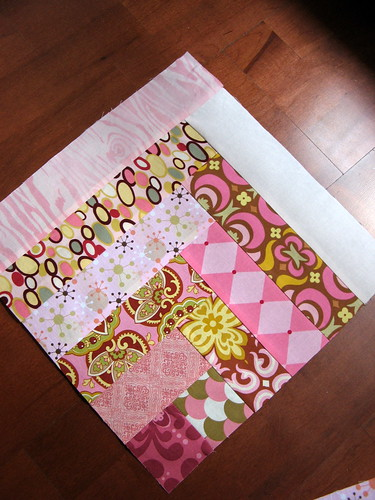 Pretty in Pink Bee - August Block 2 - angle view