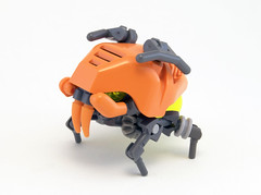 W7 Bull-Tick (Titolian) Tags: tank lego space alien bull storage tick fangs nano bionicle bot