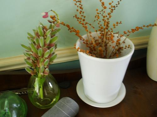 New green vase