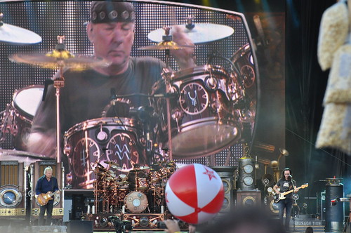 Rush at Ottawa Bluesfest 2010