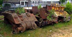Former range targets (Whipper_snapper) Tags: uk greatbritain england war tank dorset gb tankmuseum tanks warmuseum bovington bovingtontankmuseum pentaxkm royalarmouredcorps