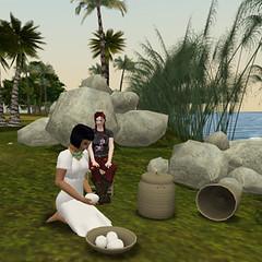 Friday Meet-up by the Nile (lokumshilova) Tags: river nile virtual addisonlee heritagekey lifebythenile virtualegypt