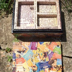 Mills and Boon jewellery box (Nova+Lorsten) Tags: decoupage galleryboxes