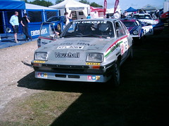 Vauxhall Chevette 2.3 (Lancia Stratos and Toyota TC behind) (74Mex) Tags: festival speed stage rally 23 goodwood vauxhall 2010 chevette