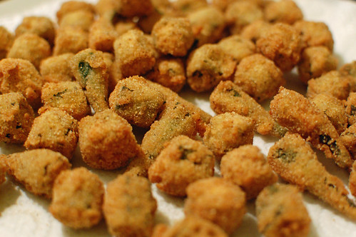 Fried Okra | Tamarind and Thyme