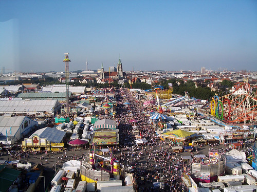 Oktoberfest from the Ferris Wheel