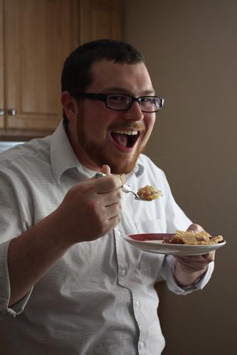 Yum! Rhubarb pie