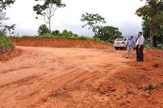 Inspeccion de terreno en La Bocana para plan d...