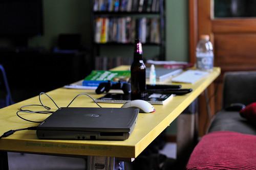 Sawhorse Desk