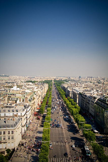 290610_ view from the Arc de Triomphe de l'Étoile #1