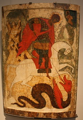 St George Slaying a Dragon - National Museum, Stockholm